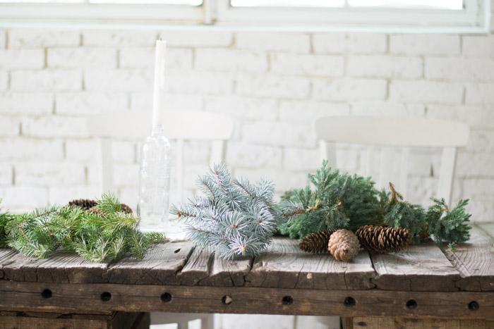 Centro de mesa navidad natural diy - Handbox Craft Lovers ...