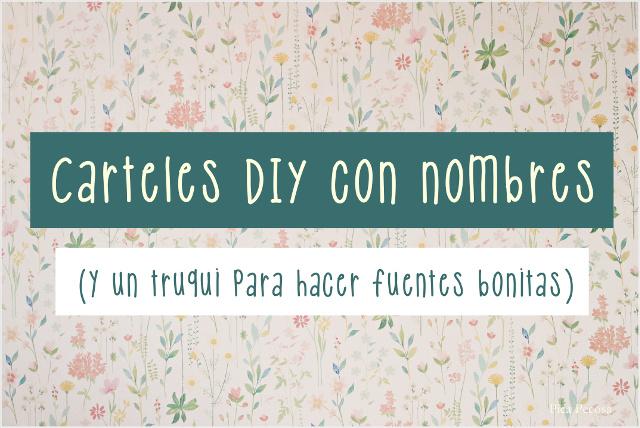 como-hacer-cartel-nombre-bebe-tabla-materiales-reciclados-diy