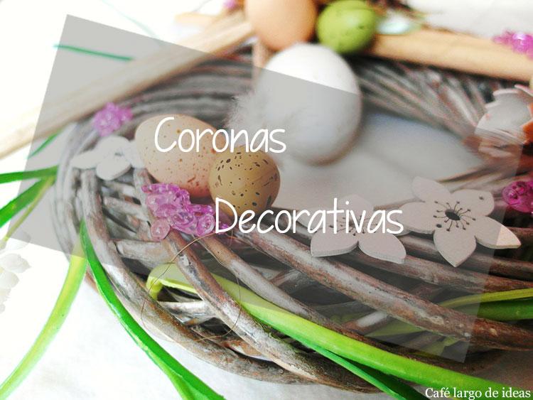 Coronas decorativas handmade