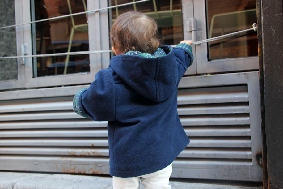 diy patrones gratis abrigo trenca bebe nino 11