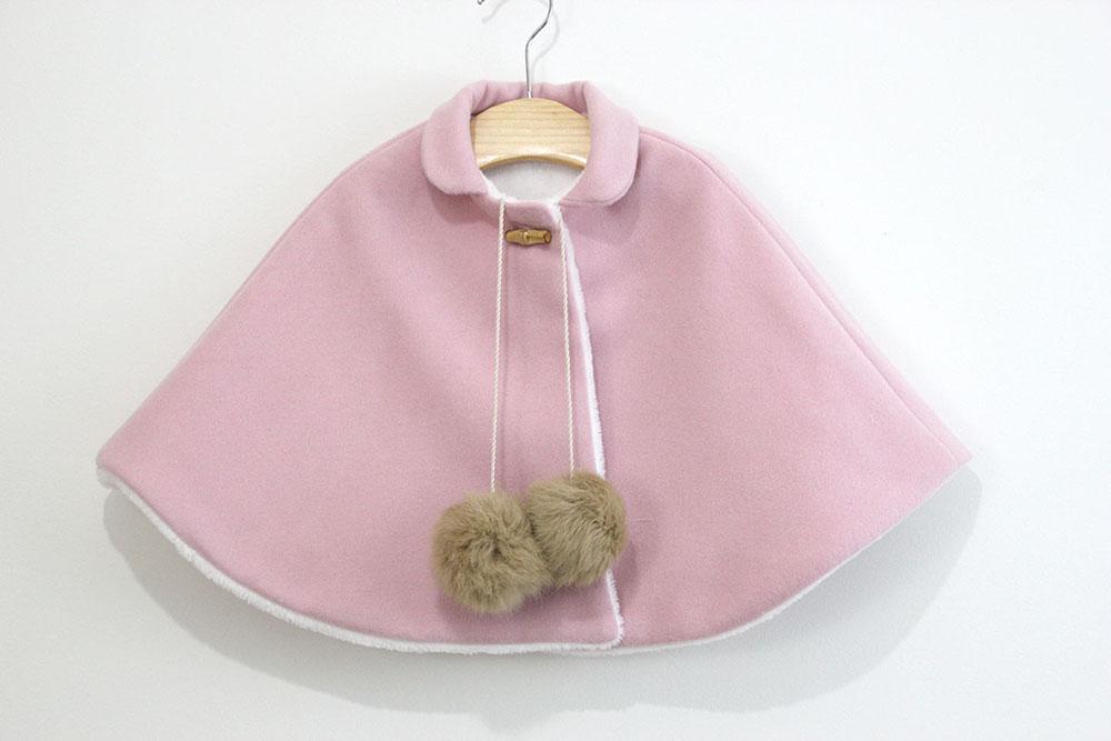 DIY Patrones gratis de abrigo tipo capa para niña - Handbox Craft ...