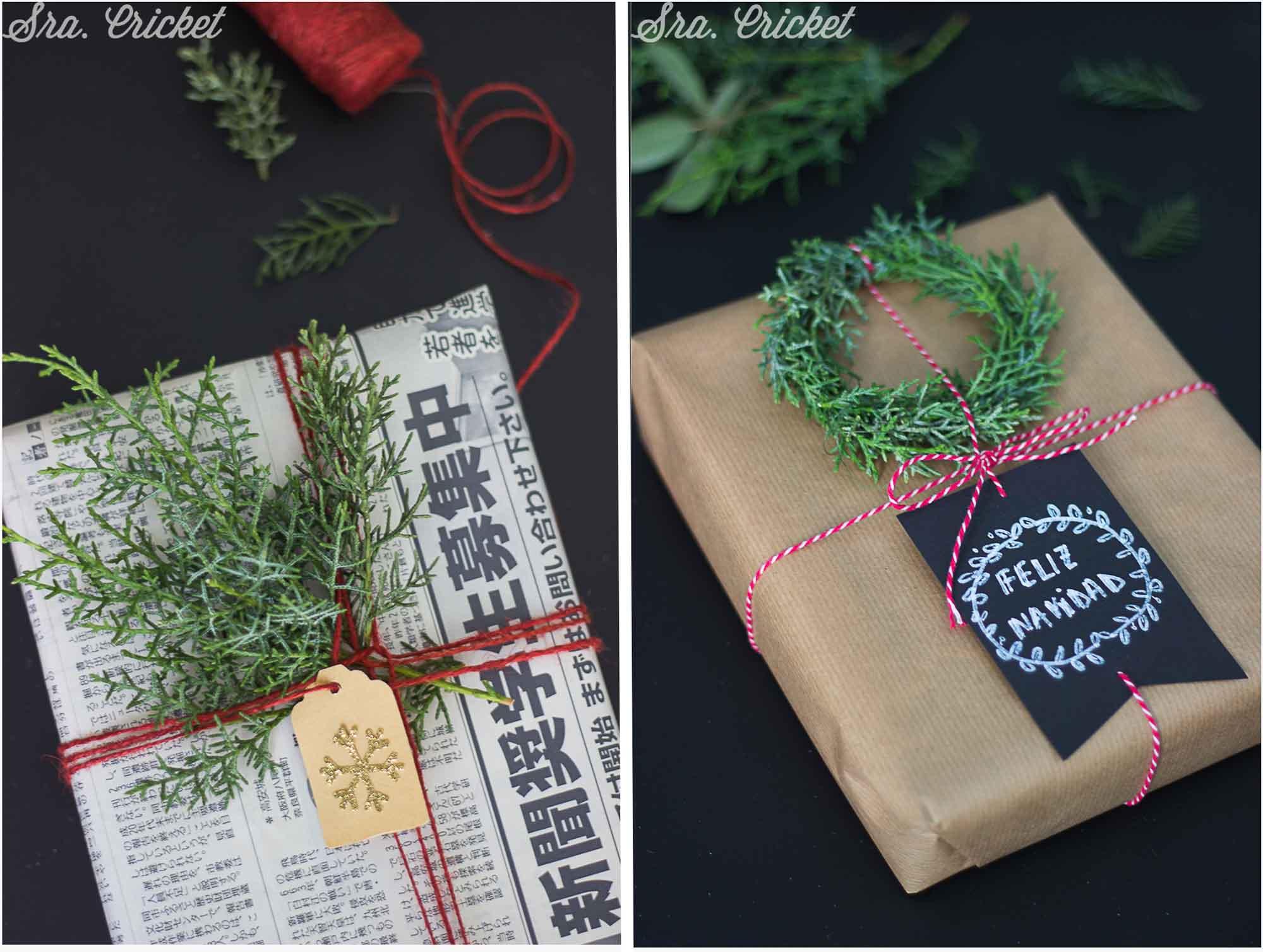 envolver regalos navidad diy