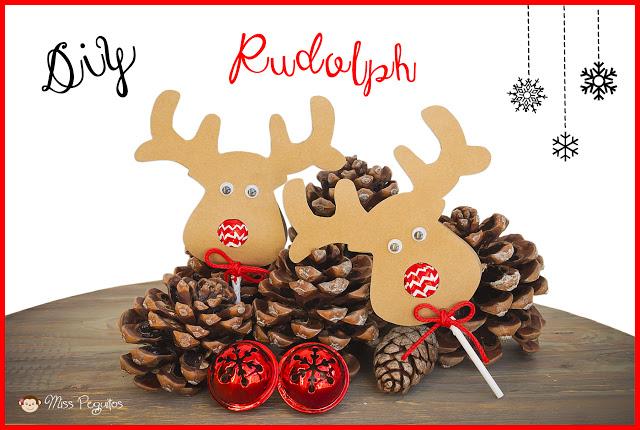 diy christmas rudolph navidad manualidades lollipop
