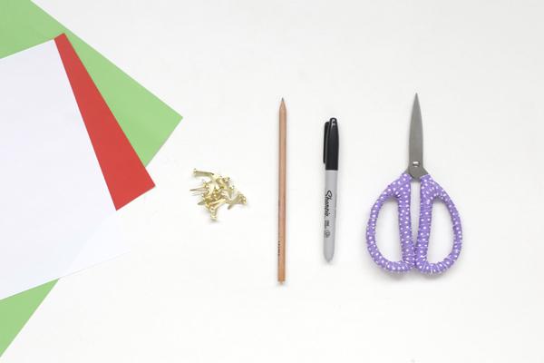 materiales-invitacion-cumpleanos-sandia-diy
