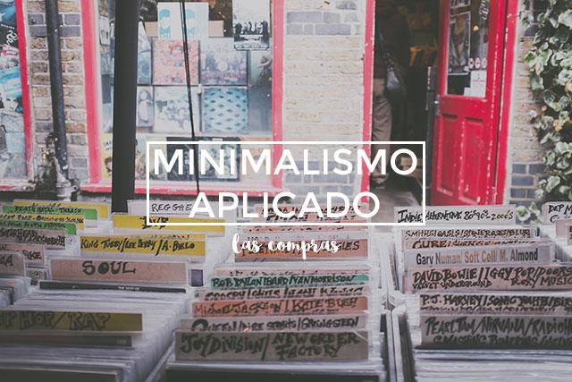 Minimalismo aplicado: compras