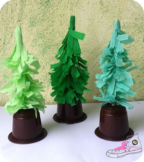árbolitos de navidad diy