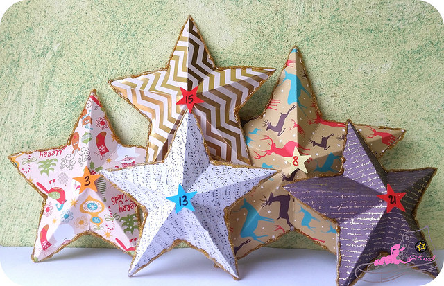 estrellas papel