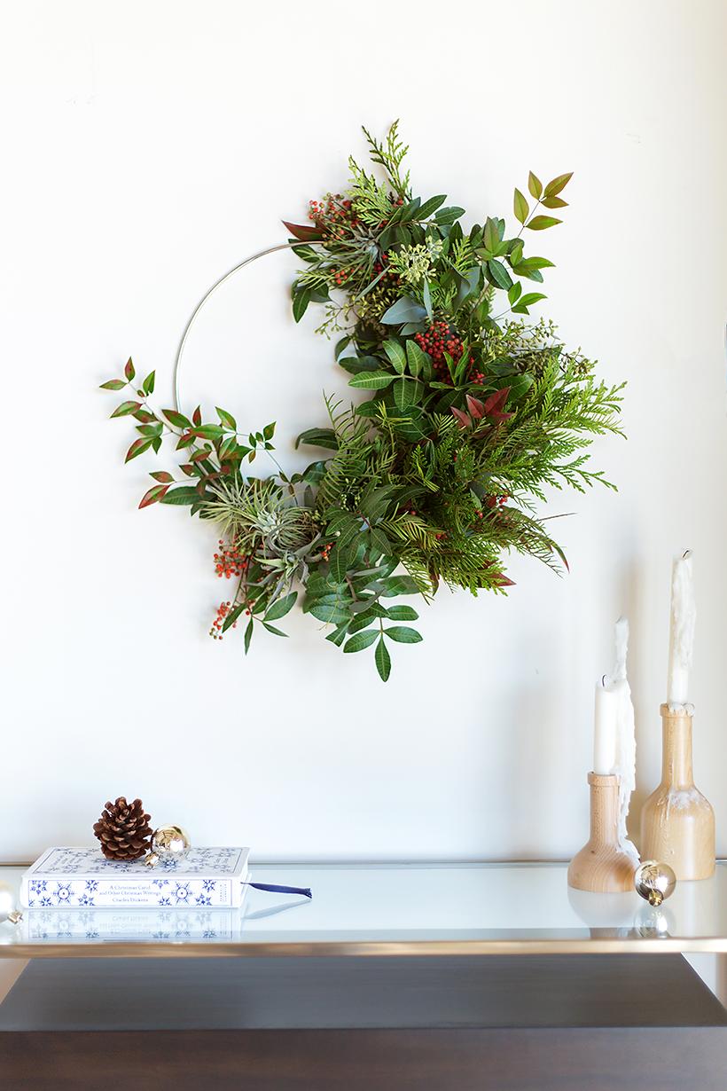 4_DIY_para_tu_decoración_de_Navidad_decoinspiración_decolook_handmade_manualidades_low cost_corona_navideña