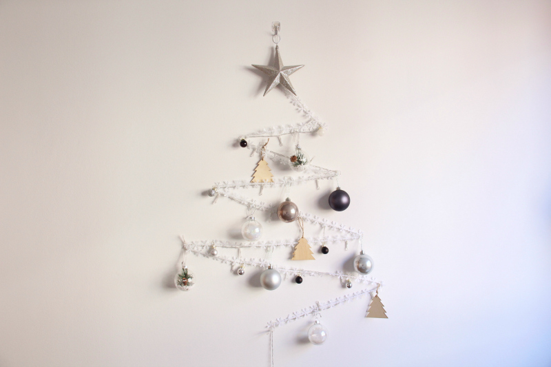 Arbol de Navidad Vertical - Handbox Craft Lovers | Comunidad DIY ...