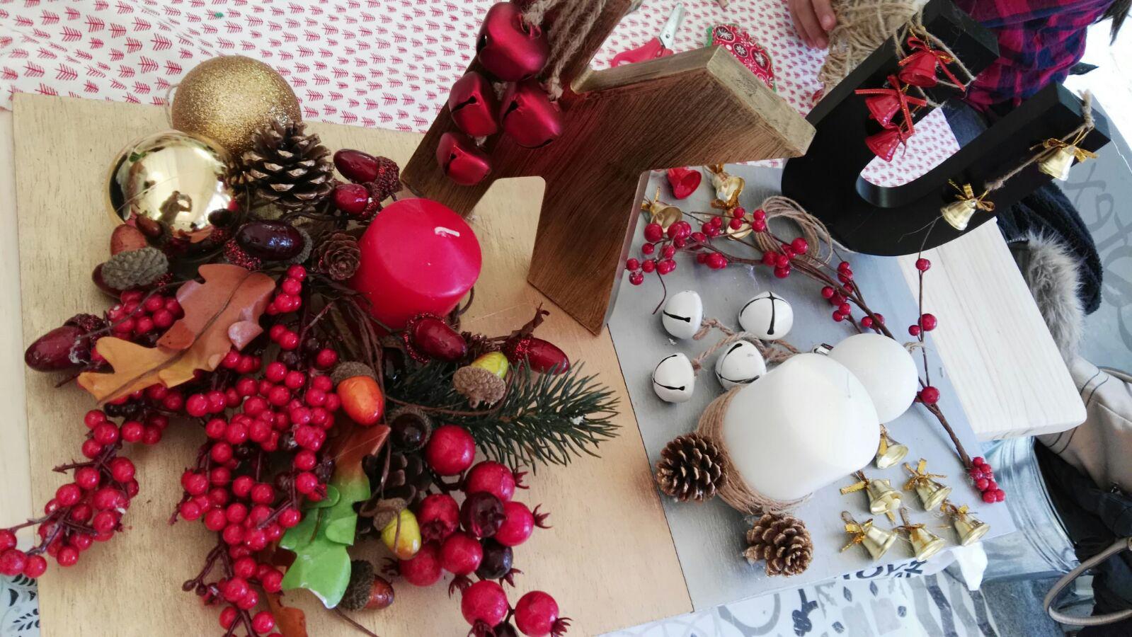 decoracion de navidad diy - centros-de-mesa-talleres-leroy-merlin