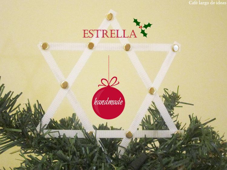 Una estrella para el árbol de Navidad