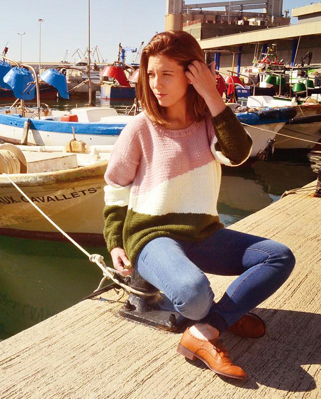 KAL Asymmetric Sweater