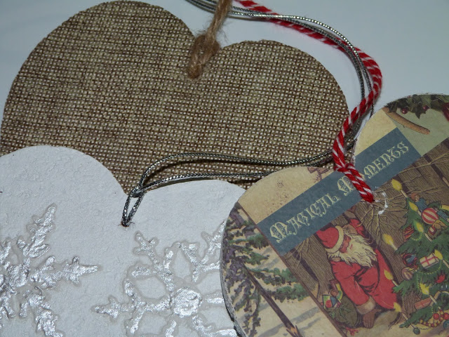 isabelvintage-vintage-colgante-corazones-adorno-navideño