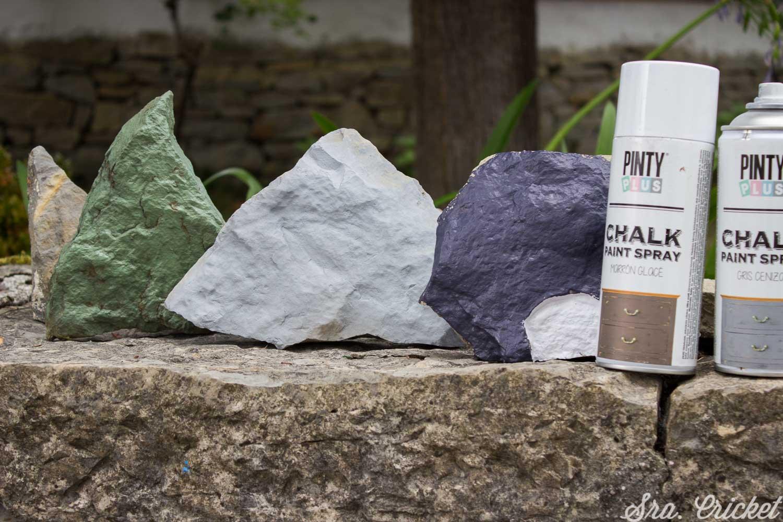 pintar piedras manualidades niños