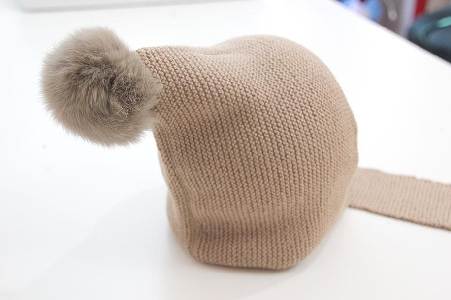 DIY Cómo hacer gorro de lana con bufanda (talla 6 a 18 meses ...