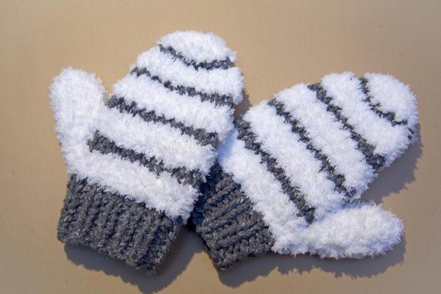 Tutorial fácil para tejer manoplas de lana - Handbox Craft Lovers ...