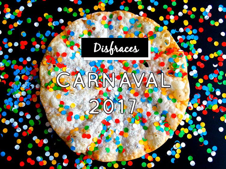 Disfraces originales para Carnaval 2017