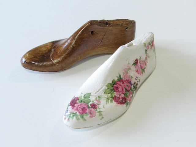 decoupage hormas zapatos