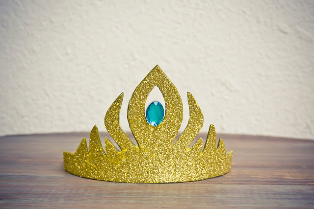 diy corona elsa frozen crown