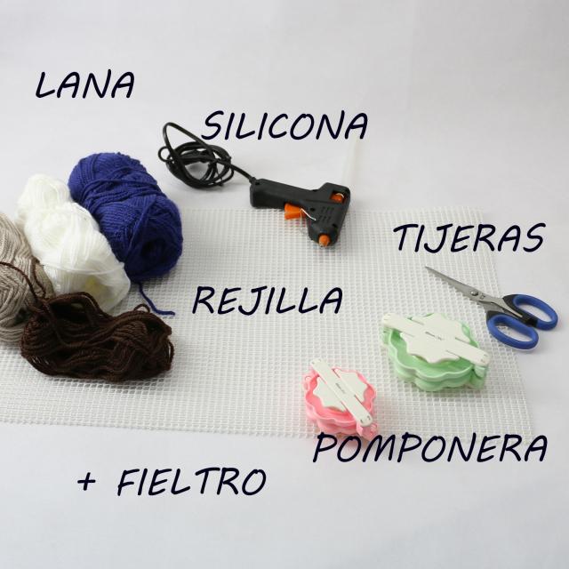 DIY Alfombra de pompones de lana - Handbox Craft Lovers | Comunidad ...