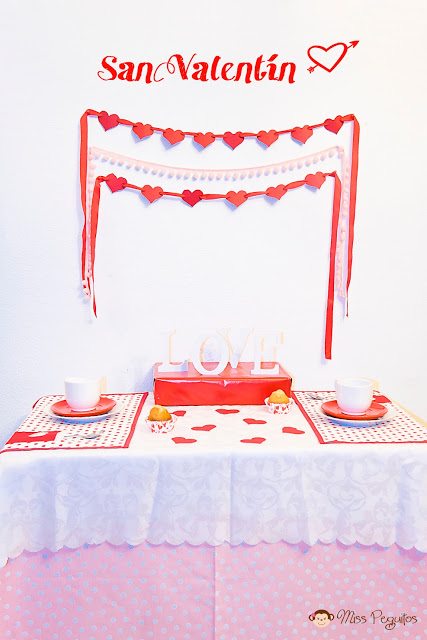 diy fiesta san valentin party valentine