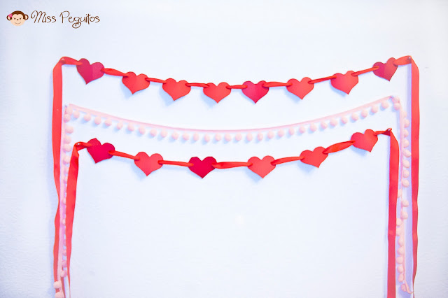 diy fiesta san valentin party valentine