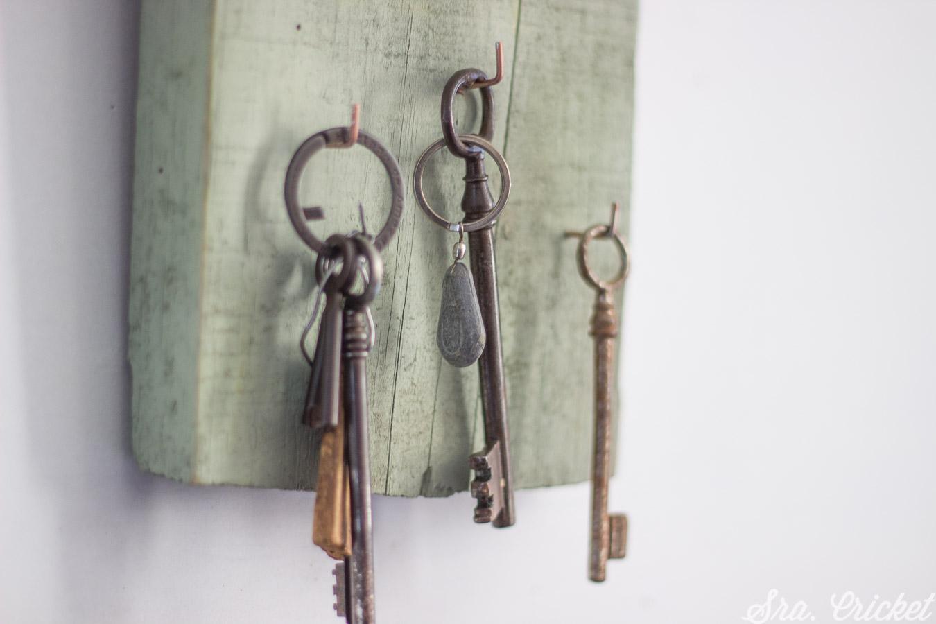 key hanger diy