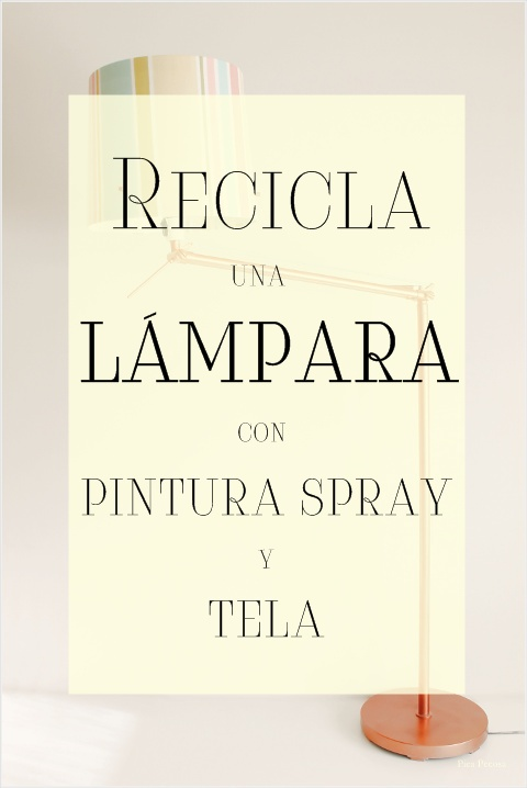 lampara-pie-ikea-reciclada-pintura-spray-tela-diy-cartel