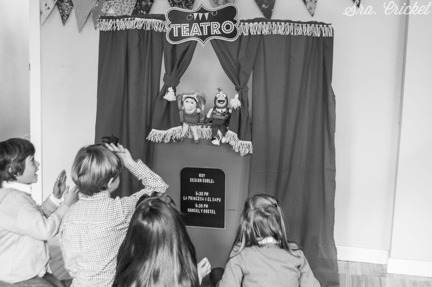 teatro titeres casero diy