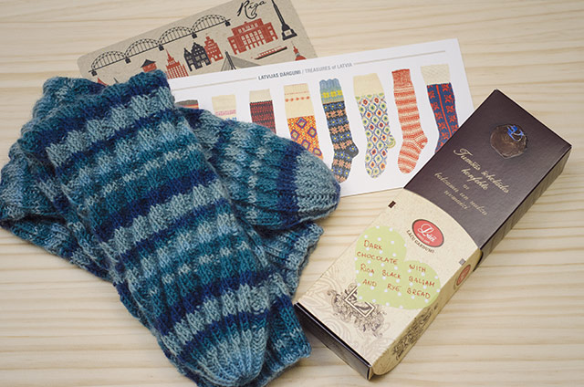 Totally Mad International Sock Exchange: paquete recibido