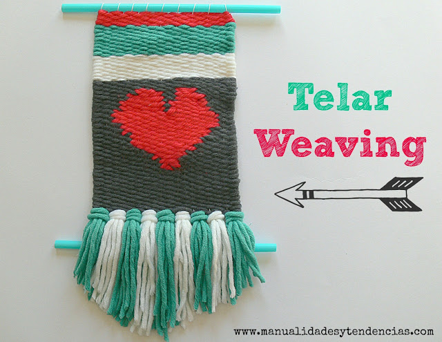 How to make weaving wall art