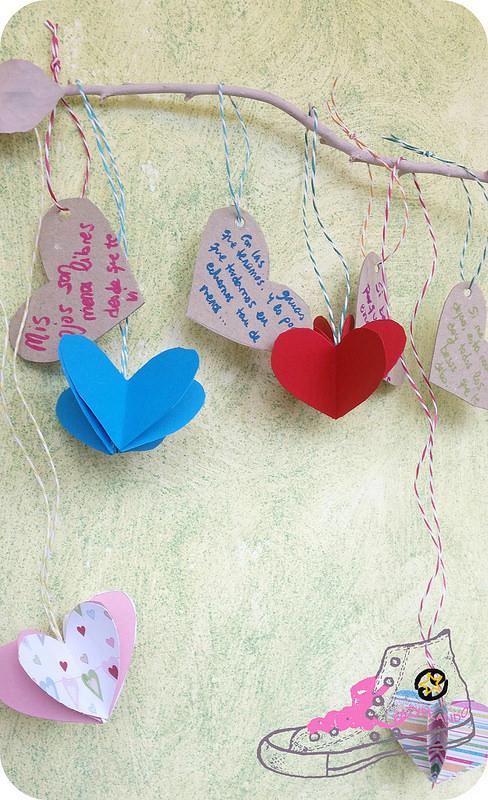 rama de mensajes amorosos