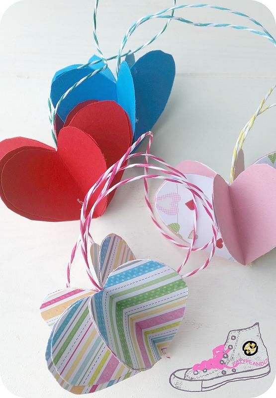 corazones 3d
