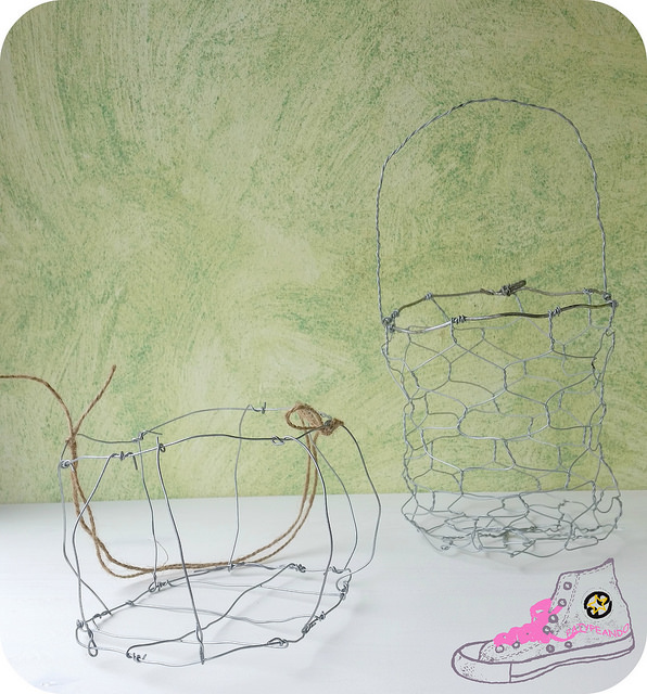 cestas de alambre