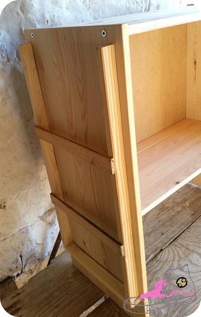 mueble modificado rast ikea
