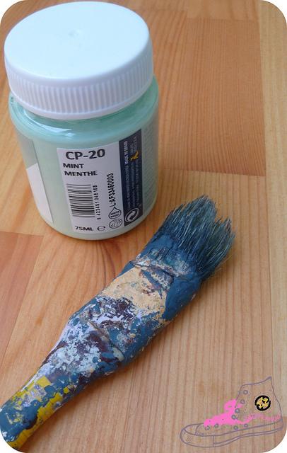 pintura la pajarita mint