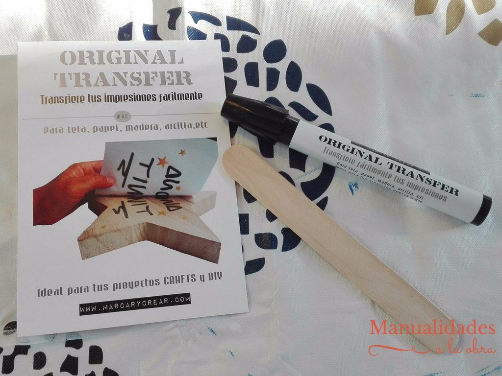 Original Transfer de Marcar y Crear