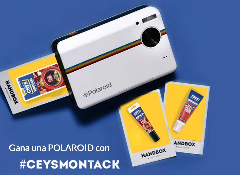 Gana una Polaroid con ceys