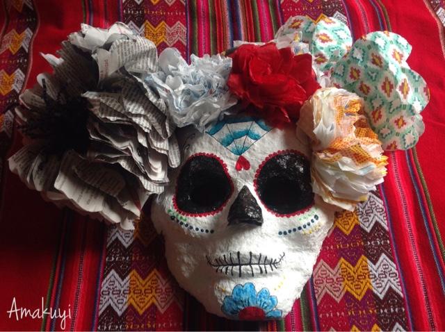 Máscara-carnavales-pasta-de-papel-desafío-Handbox-innspiro