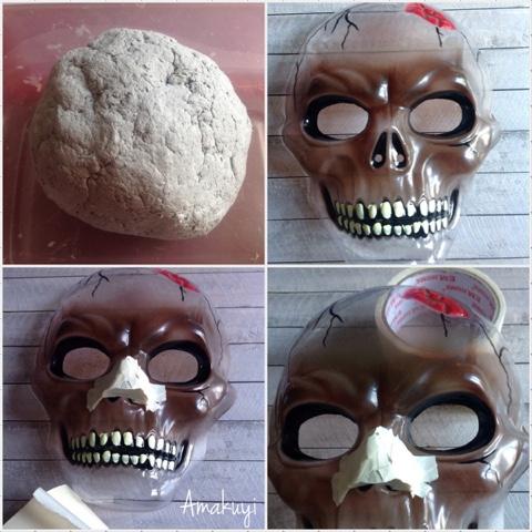 Máscara De Catrina Con Pasta De Papel Handbox