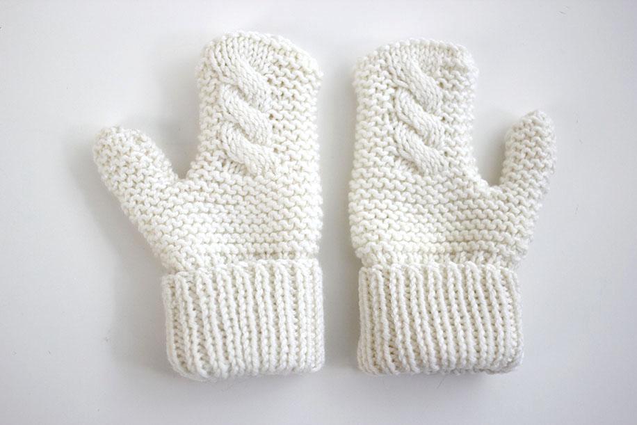DIY Cómo hacer guantes para niños (patrones gratis) - HANDBOX