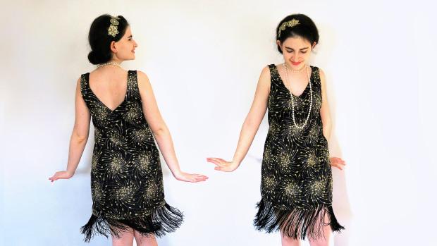 diy vestido años 20 flapper dress.jpg