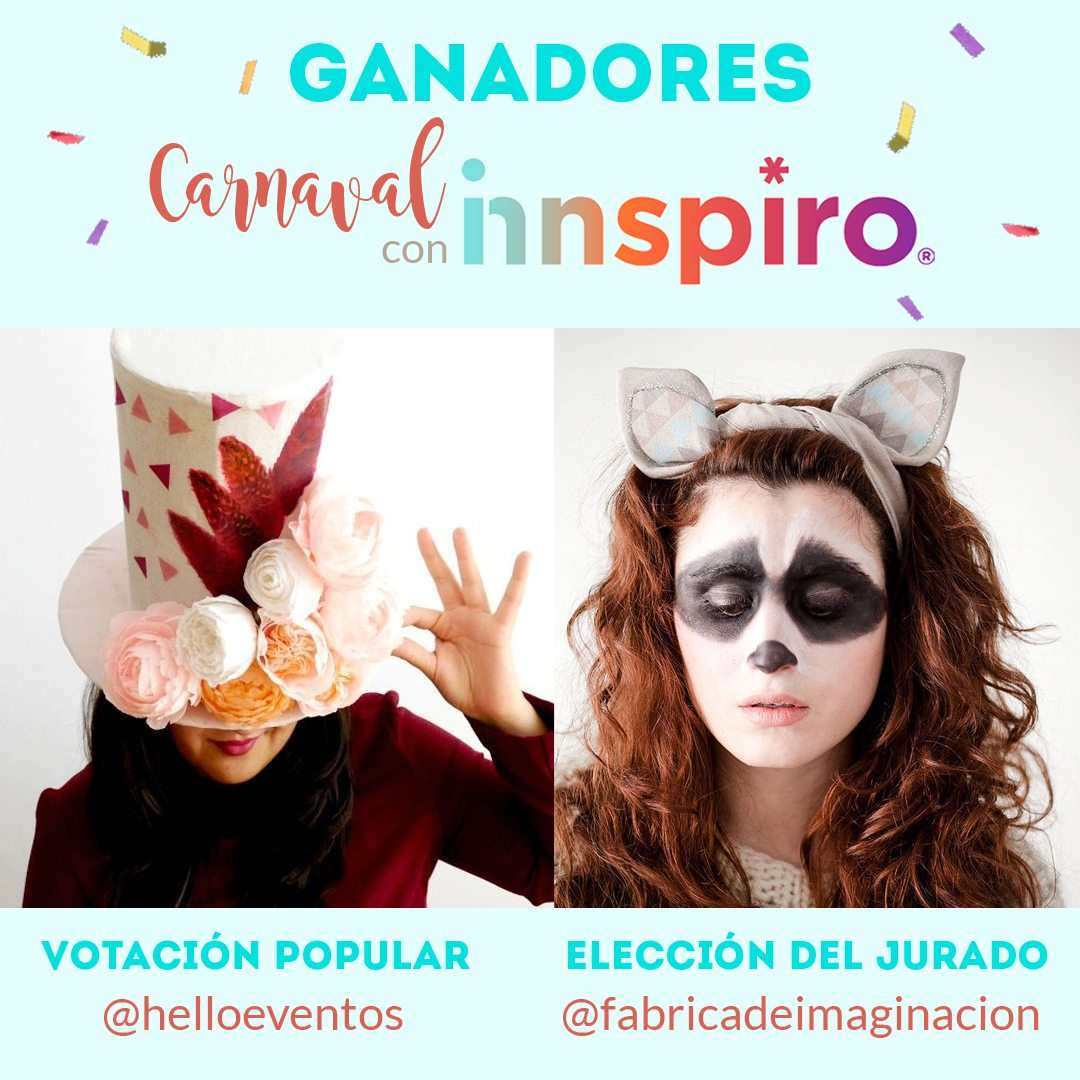 ganadores desafio carnaval innspiro