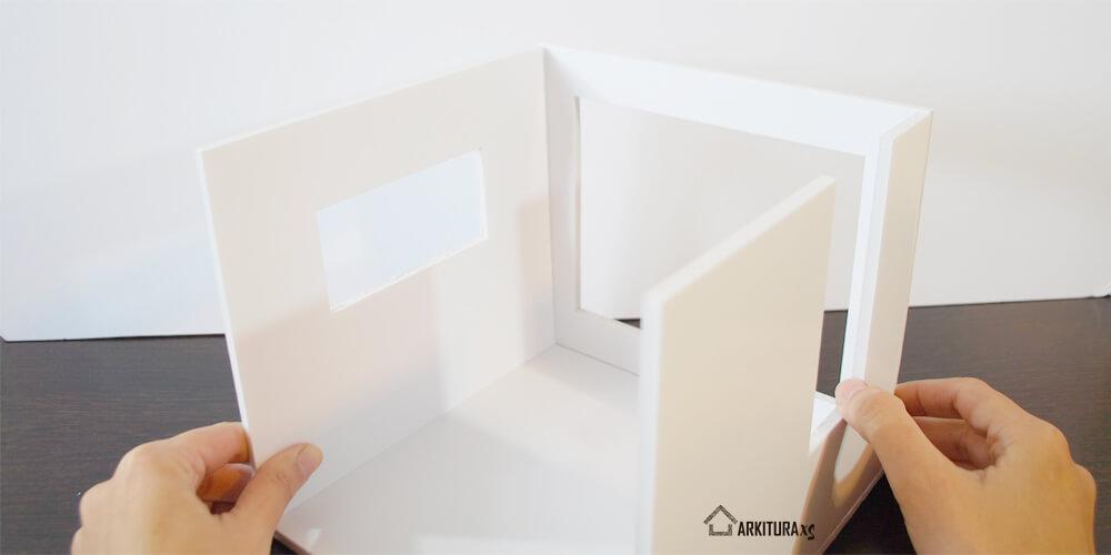 mini casita para regalar casita de muñecas moderna