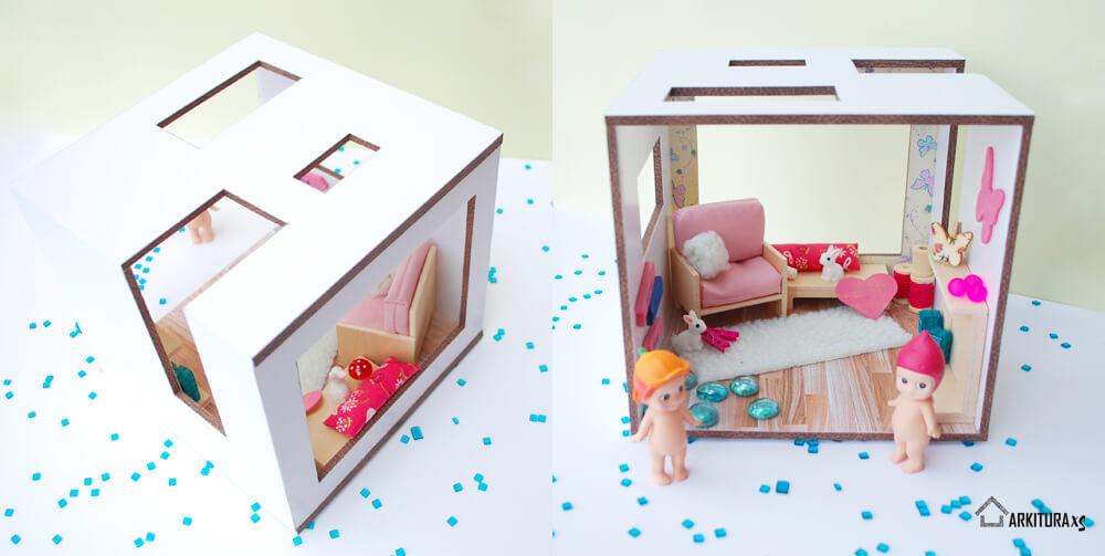 mini casita para regalar en san valentin