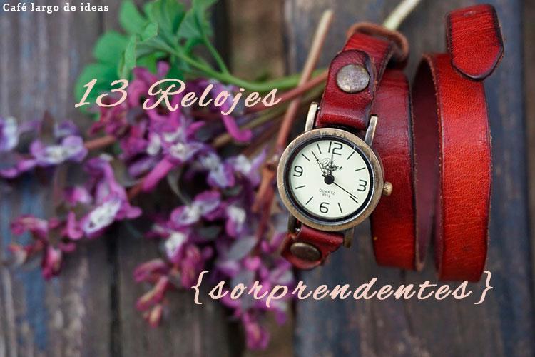 13 sorprendentes relojes de pared