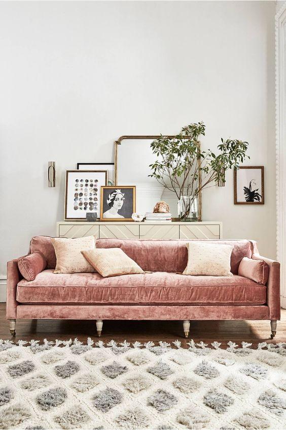 Tipos de sofás: elegir tendencia