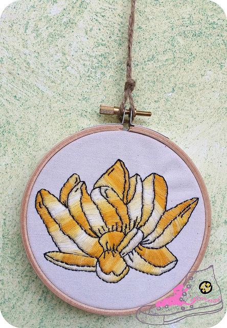 embrodeiry art flor