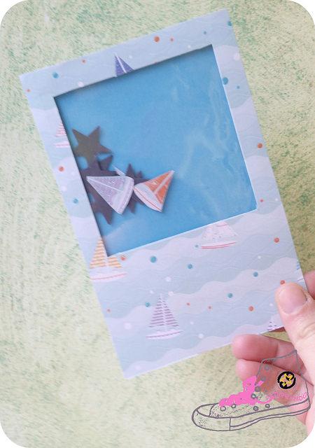 shaker card marinera