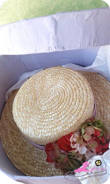 sombrerera a partir de caja